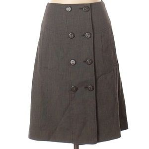 The Limited | elegant button up skirt